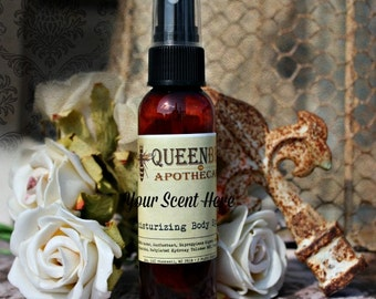 WHISKEY SUGAR - Moisturizing Body Spray - 2 Ounce - Hair & Body Safe