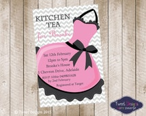 kitchen tea invites ideas popular items for high tea on etsy 20089