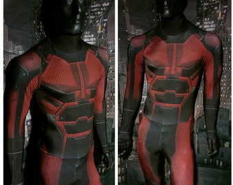 Daredevil inspired bodysuit
