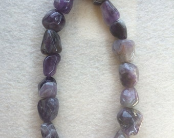 Amethyst Nugget Beads