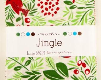 Jingle Charm Pack by Kate Spain for Moda