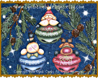CC170 - Jolly Jinglers Painting E Pattern
