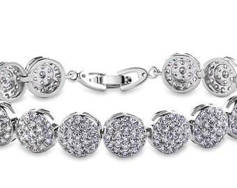 Elegant Bridal Wedding Bracelet