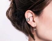 Hammered Ear Cuff