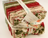 Under the Mistletoe Fat Quarter Bundle by 3 Sisters for Moda SKU 44070AB