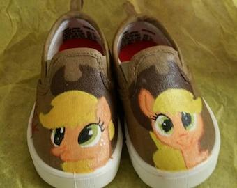 AppleJack My little Pony Shoes
