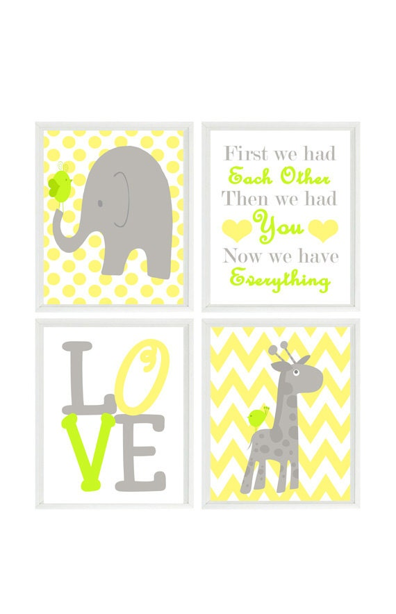 Magnificent Elephant Wall Art For Nursery Vignette - All About ...