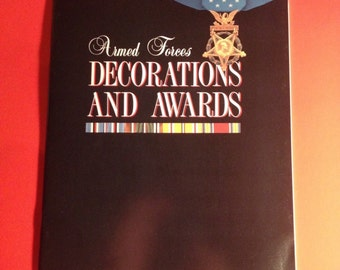 Medal id book armed forces decorations and awards 1992