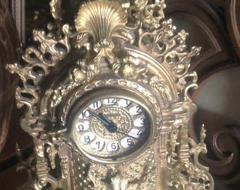Beautiful Boulle French Clock