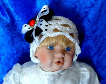 BABY COTTON HAT.