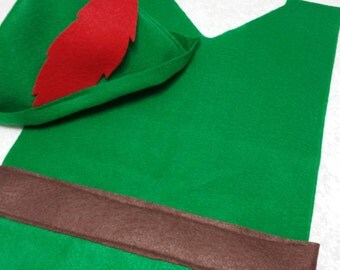 Kids Peter Pan / Robin Hood Costume Set