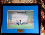 Raggedy Ann and Andy Film Cel with Certificate of Authenticity
