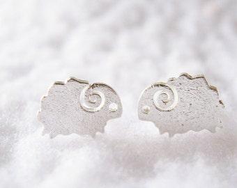 Mini Sheep  Earring x 1 pair