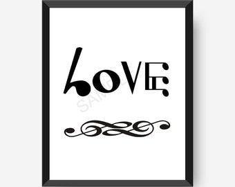 Music Art, Love Notes, Music Note Art, Music Notation Art, Music Wall
