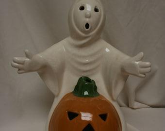Vintage Halloween candle holder