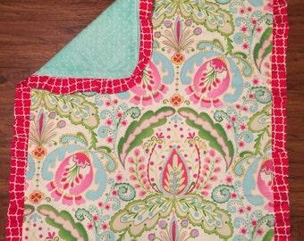 Custom Minky Stroller Blanket