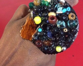 Funky Junky Afro Ring