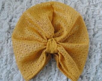 Lace Turban Hat
