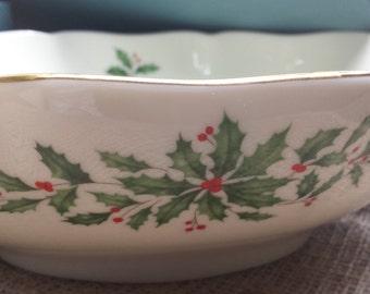 Lenox Holiday Centerpiece Bowl