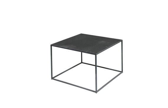Industrial steel metal coffee table 24 x 24 by for 24 x 24 coffee table