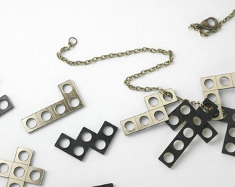 Pentomino Puzzle Necklace