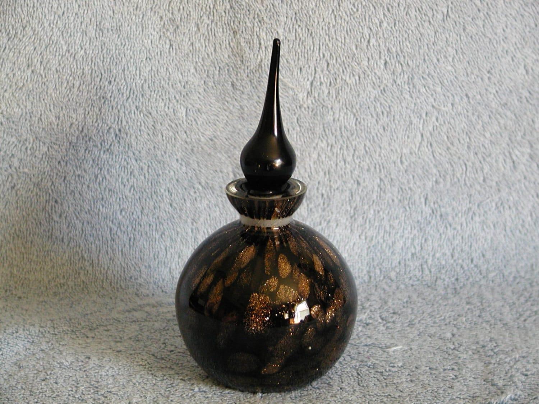 Perfume bottle art glass