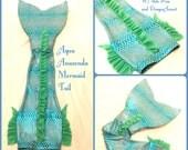 "The ""Aqua Anaconda"" Swimmable Mermaid Tail"