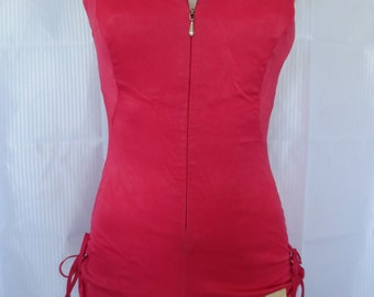 Final Closing Sale Rare NOS Dated Apr 13 1959 PROTOTYPE Cole of California Pink Swimsuit Bathing Suit Swimwear