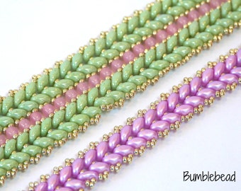 Knit One Pearl One Beading Tutorial