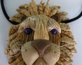 WILDCAT  - A Large Lion Head Necklace Inspired by Christi Friesen