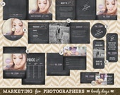 Photographer Marketing Set Seniors Photography INSTANT DOWNLOAD
