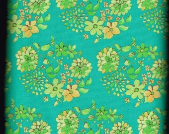 Free Spirit Quilt / Quilting Fabric Tina Givens for Free Spirit Olivia's Holiday Sugar Drop Top / High Quality Fabric By The Yard