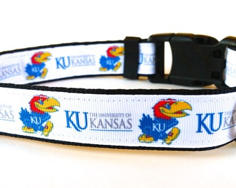 University of Kansas Jayhawks Dog Collar