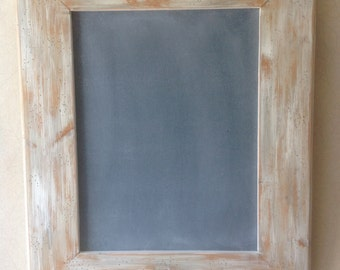 Hand painted wood framed chalkboard