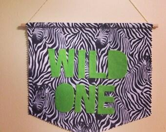 Wild One Banner