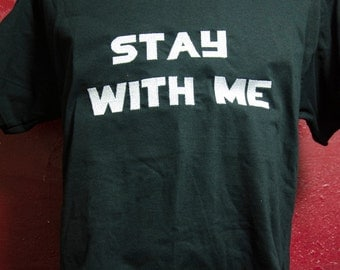 "Men's Shirt, ""Stay With Me"" Hunger Games Inspired Men's T-Shirt, Everlark, KatnissxPeeta Ship/Bride and Groom inspired shirt"
