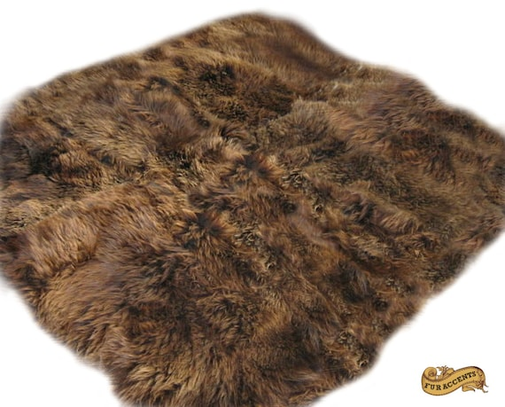 fur accents rocky mountain bear skin area rug by furaccents. Black Bedroom Furniture Sets. Home Design Ideas