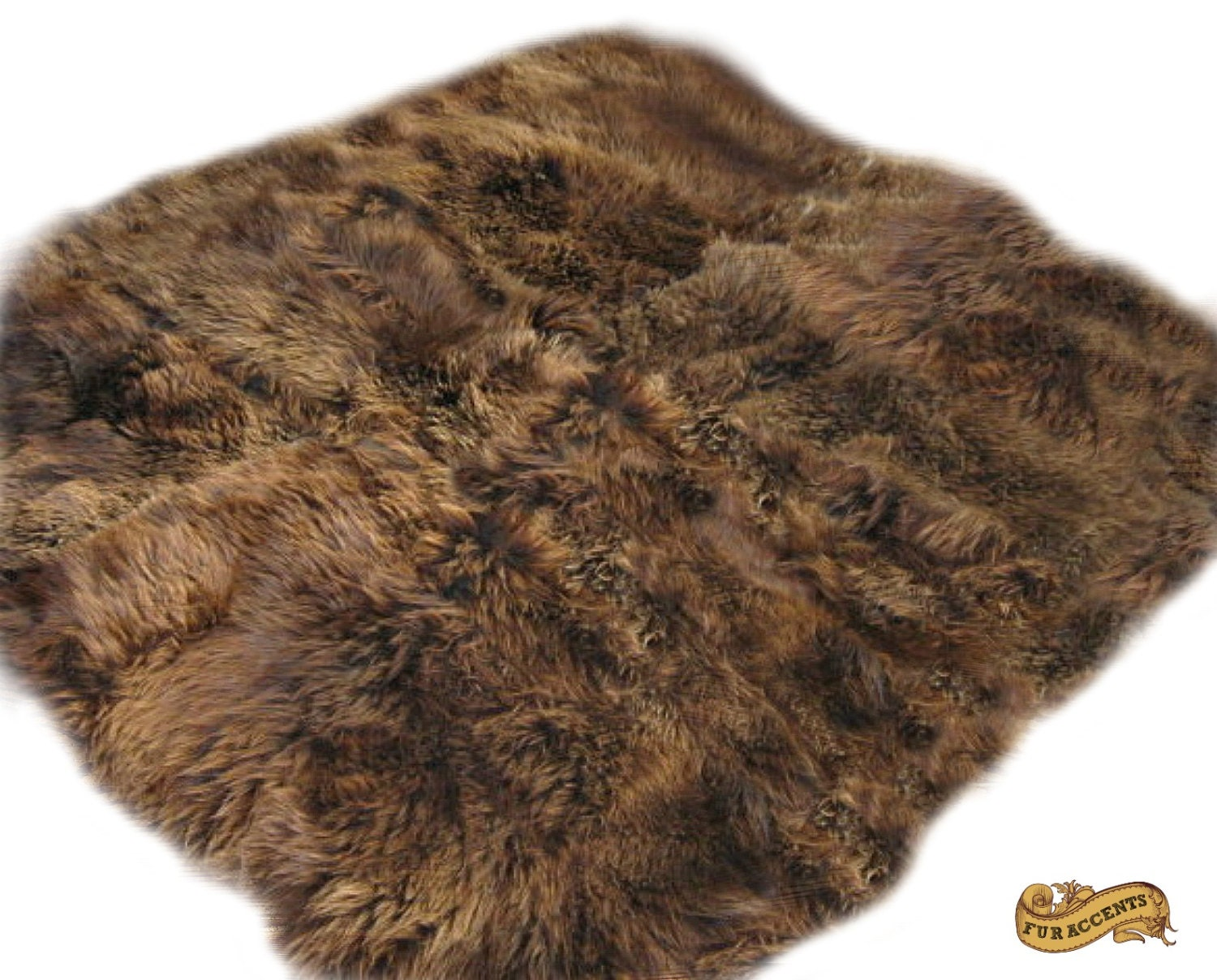 FUR ACCENTS Rocky Mountain Bear Skin Area Rug / By FurAccents
