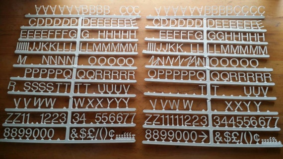3 4 inch directory board letters on helvetica by davson With 3 4 inch helvetica directory board letters