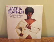 """Aretha Franklin """"With Everything I Feel In Me"""" vinyl record"""