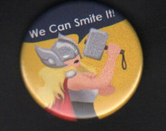 1.75in Lady Thor button