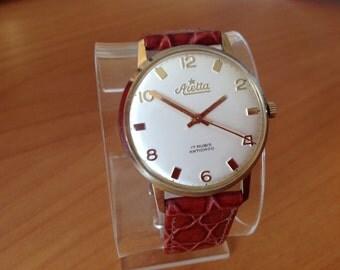 Rare Vintage Aretta Swiss watch