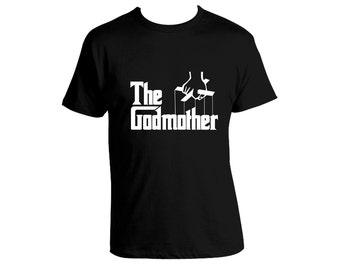 The Godmother Tee Ladies Fit godfather god parents baptism