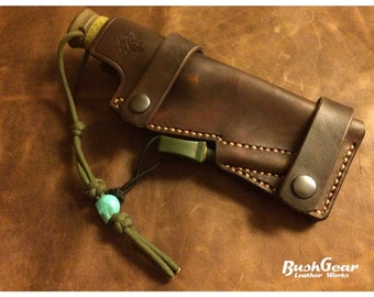 Handmade leather Knife sheath KS004