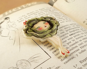 Miss Cauliflower Brooch