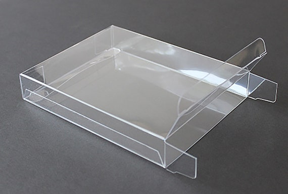 clear plastic boxes a7 clear plastic greeting cards boxes set of 25 5 3 8 11038