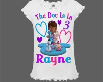 Doc McStuffins Birthday Shirt - Doc McStuffins Shirt