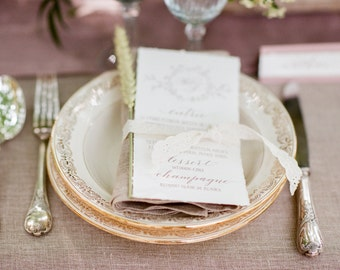 French wedding stationery, Provence