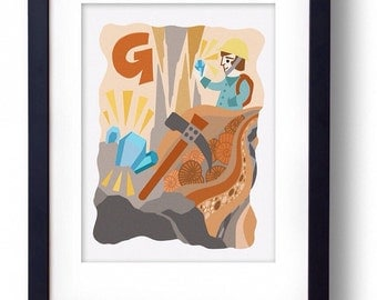 G is for Geologist - 'The A to Z of Curious Occupations