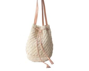 Shoulder Bag, Straw Beach Bag, Market Tote